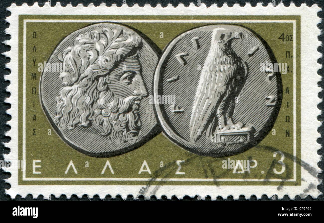 Griechenland Ca 1963 Briefmarken Gedruckt In Griechenland Zeigt