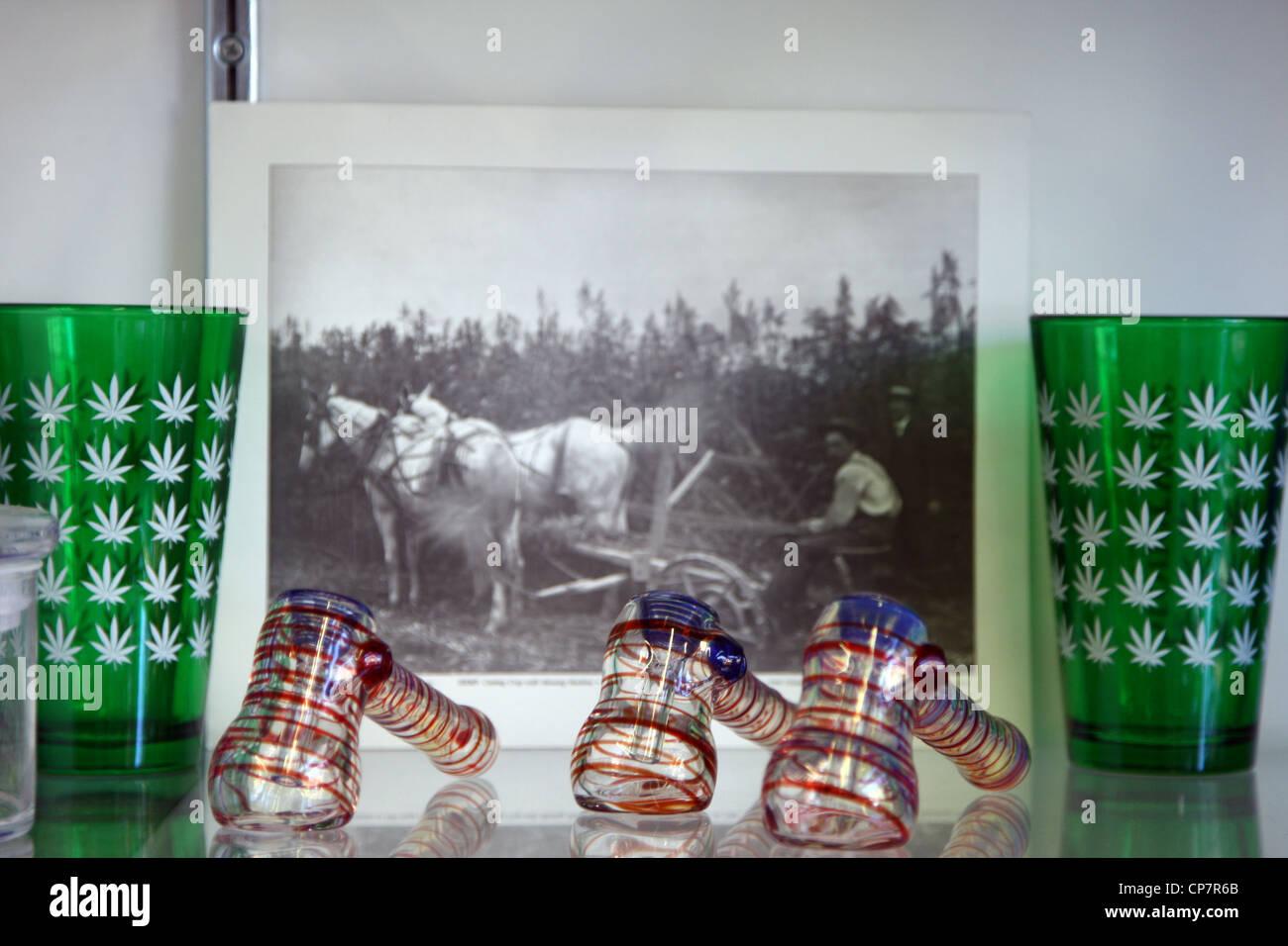 OAKSTERDAM Geschenke OAKSTERDAM CANNABIS Geschenkladen 6. Oktober 2011 Stockbild