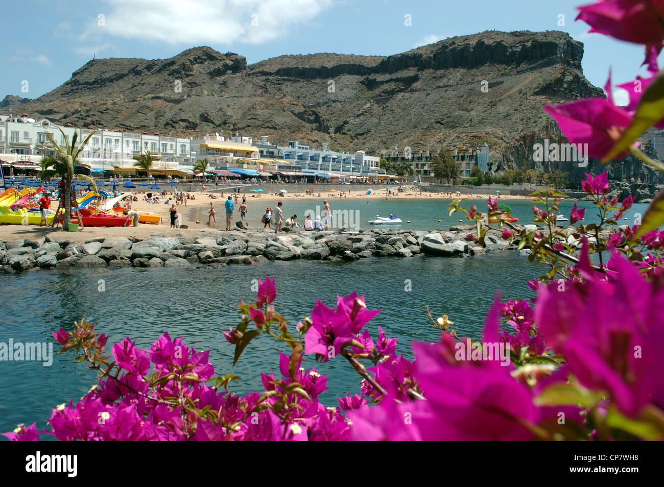 Puerto Mogan, Gran Canaria, Kanarische Inseln, Spanien Stockbild