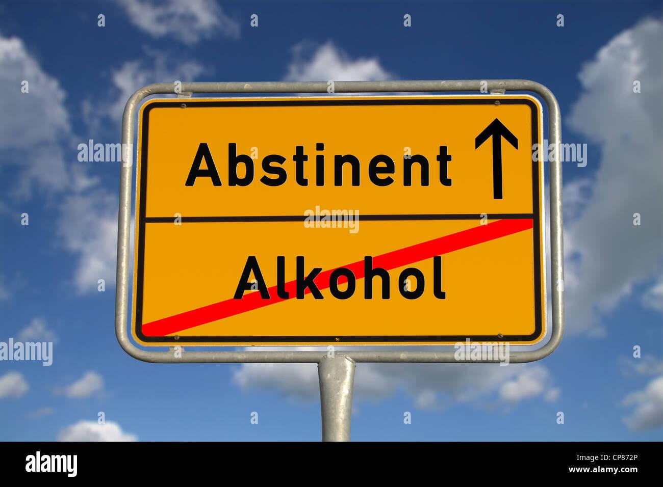 Abstinent Leben Alkohol
