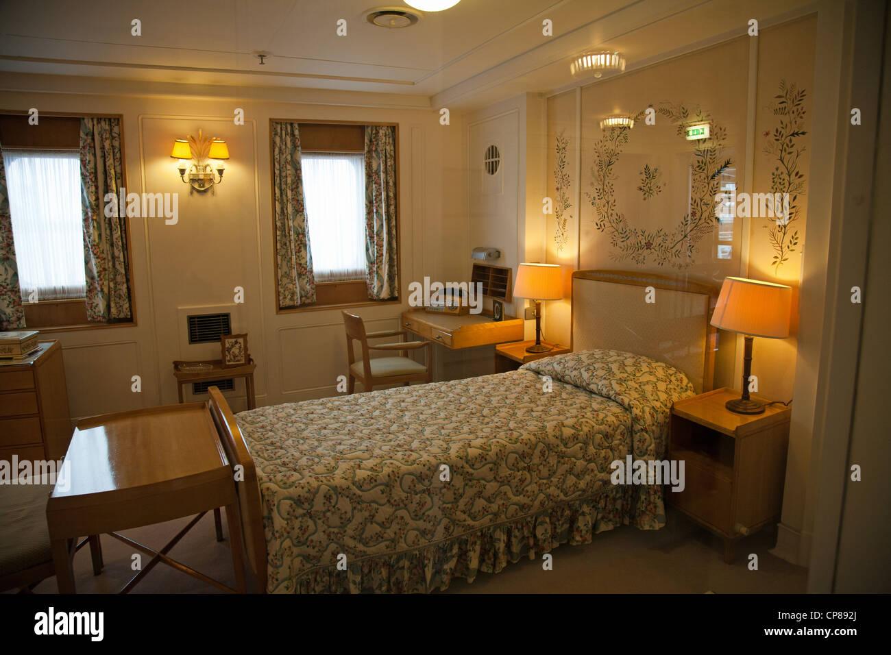 Das Queens-Schlafzimmer mit original 1950er Jahre Möbel ...