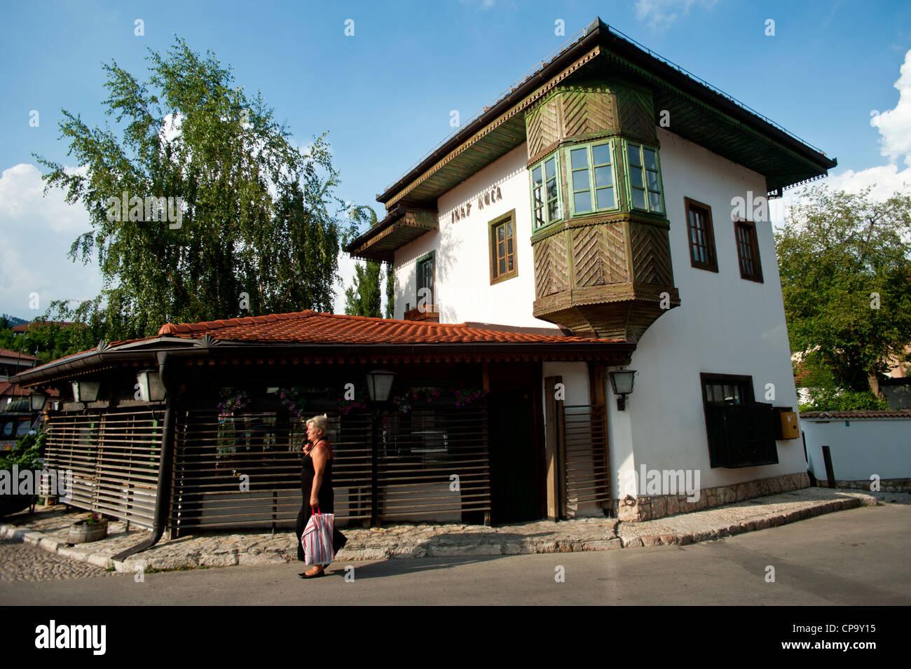 Trotz Haus im osmanischen Wohn Stil gebaut Sarajevo