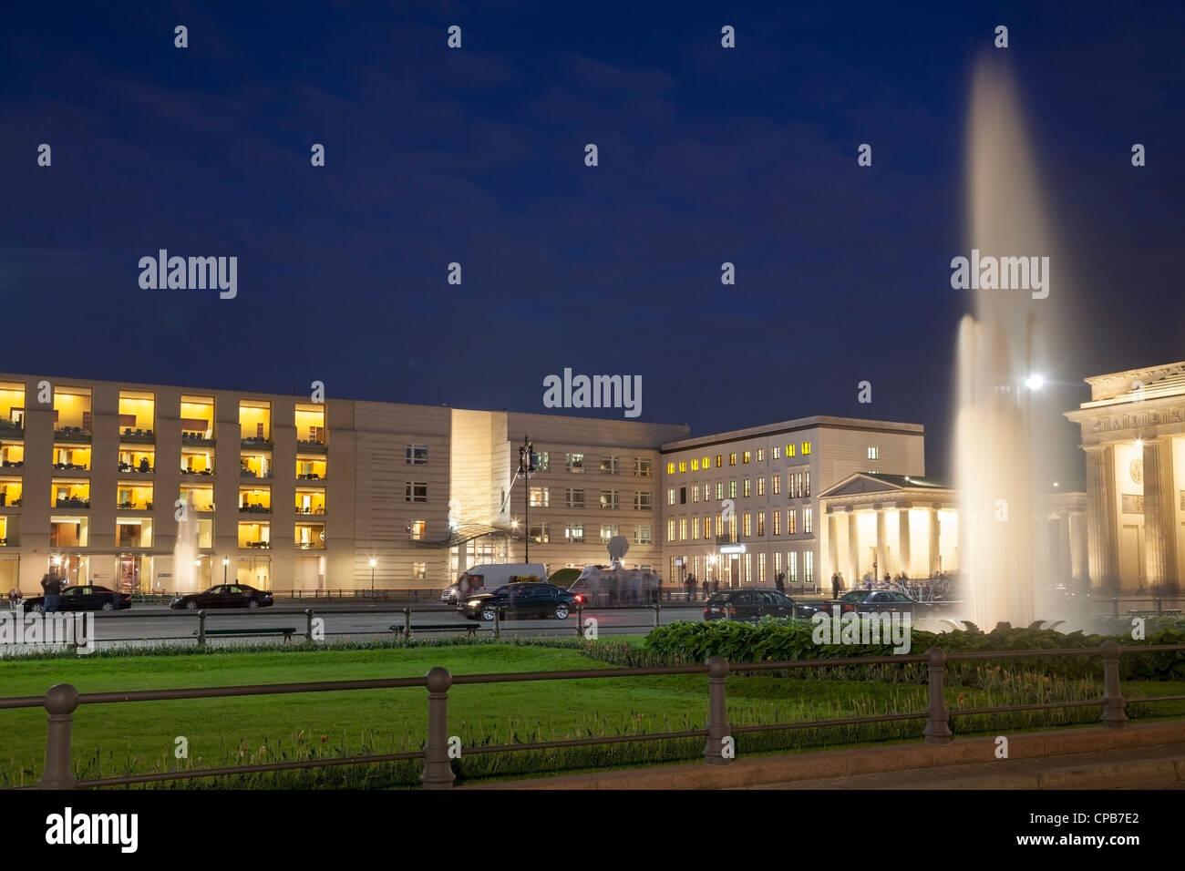 Pariser Platz, Berlin, Deutschland Stockfoto