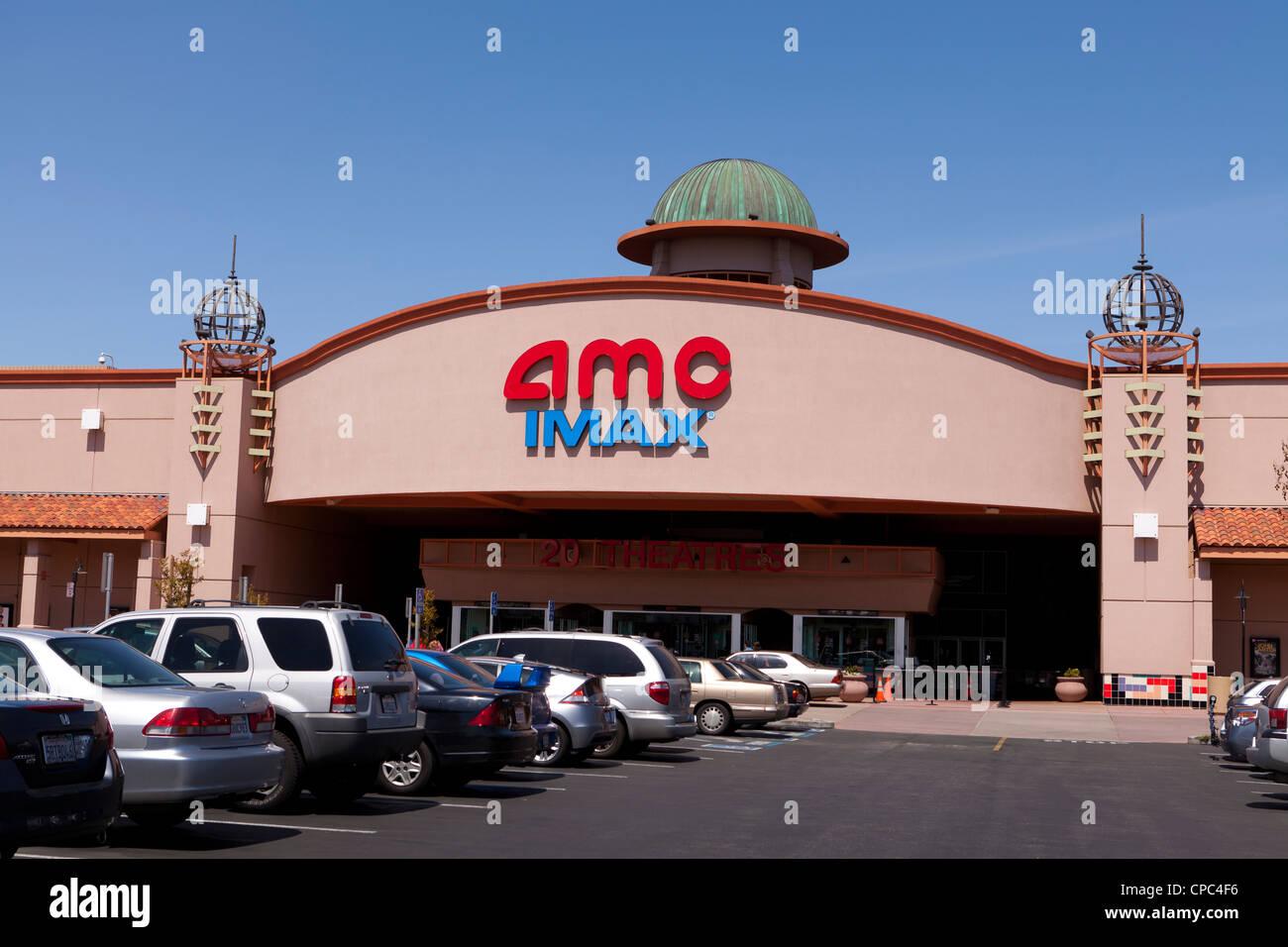 IMC IMAX Film Theatergebäude Stockbild