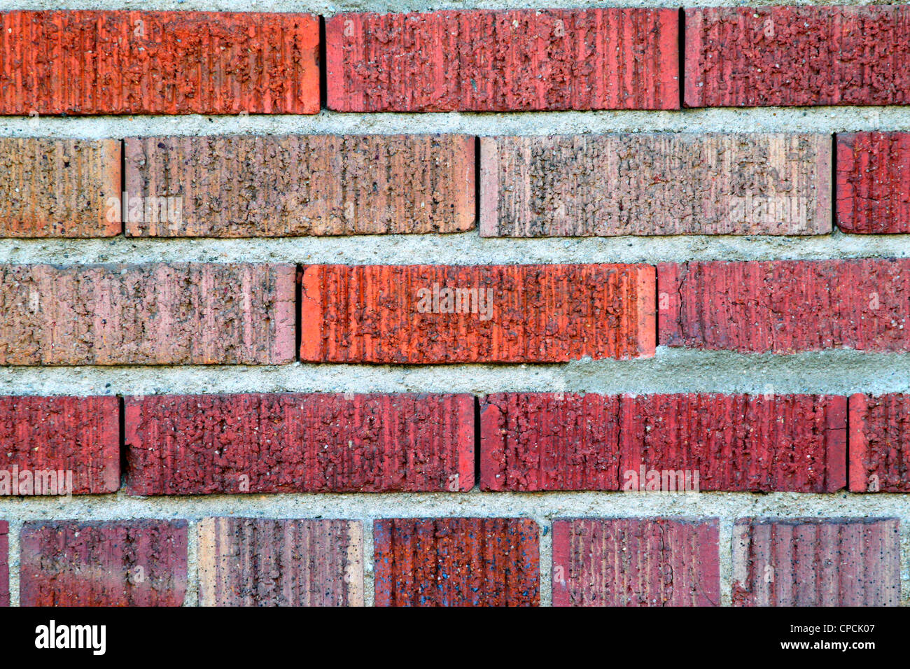 roten Backsteinmauer Stockbild