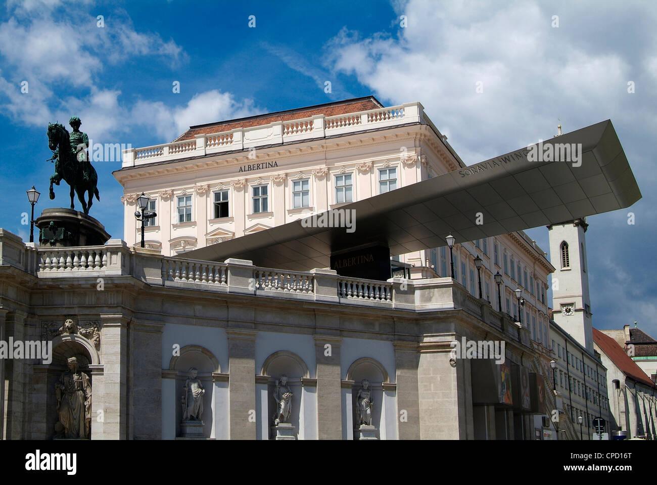 Albertina, Wien, Österreich, Europa Stockbild