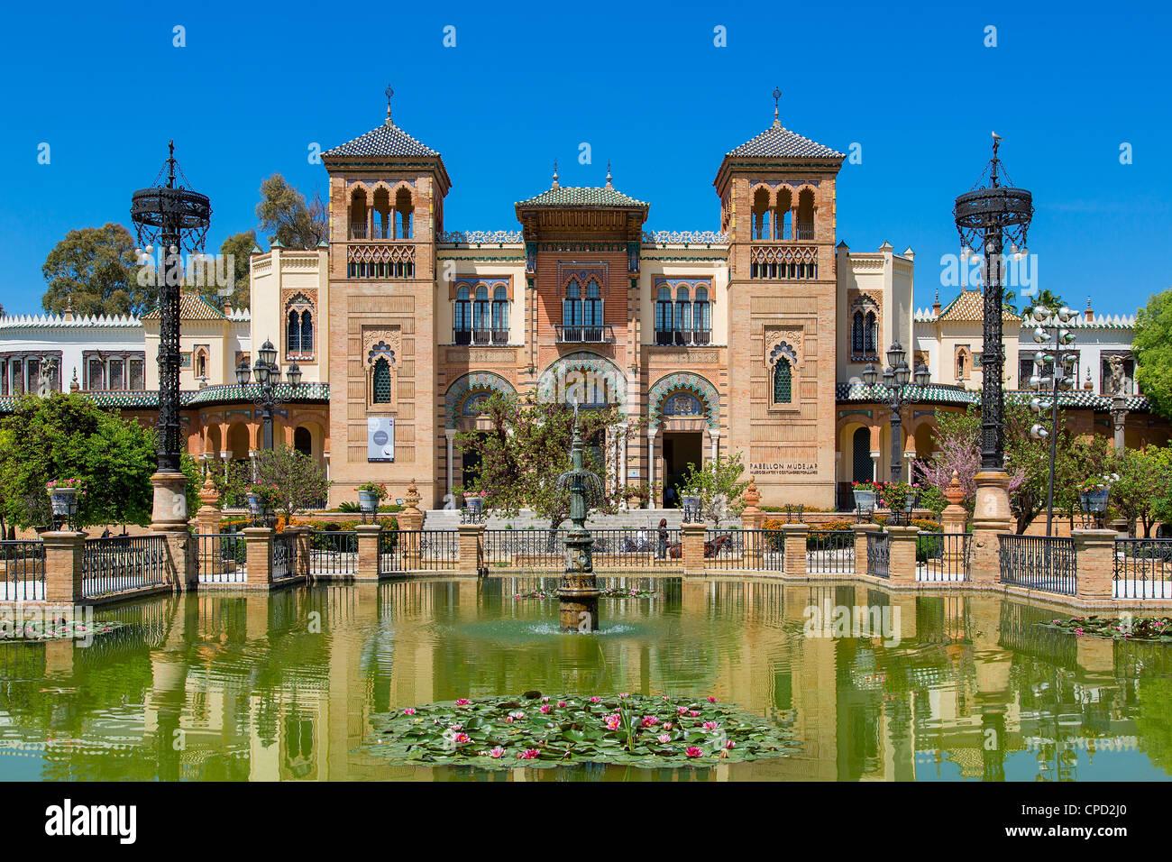 Museum für Volkskunst und Folklore in Sevilla Stockbild