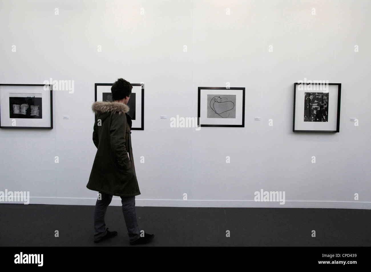 Paris Foto zeigen, Paris, Frankreich, Europa Stockbild