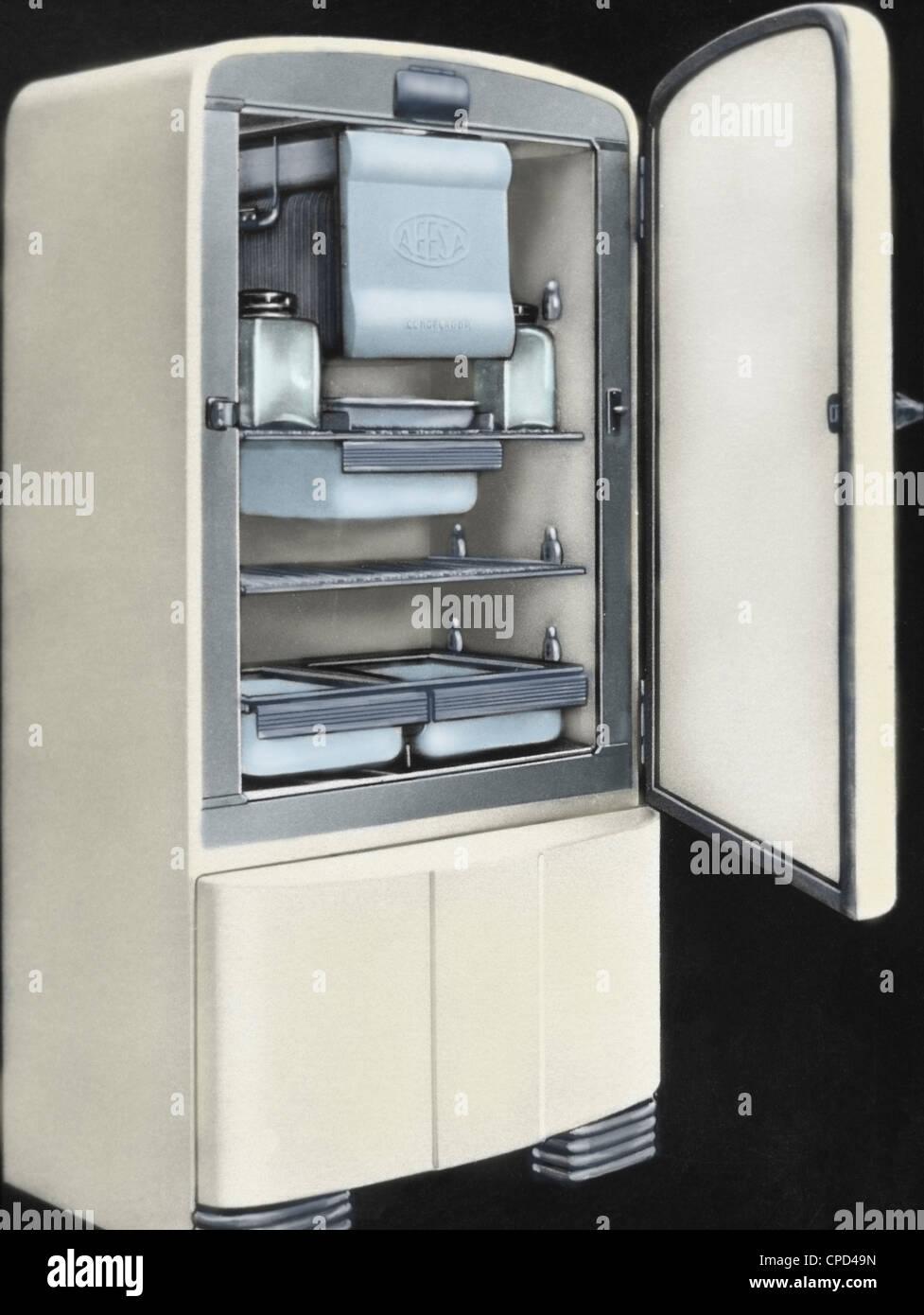 Erste elektrische Kühlschrank in Spanien von AEESA Marke (Anglo ...
