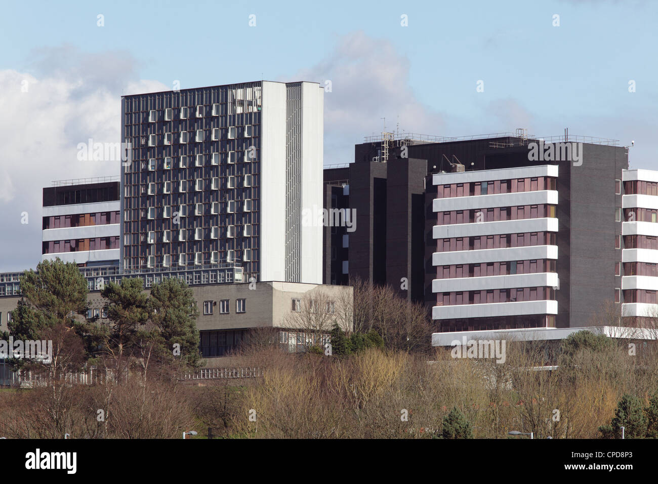 Glasgow Royal Hospital for Sick Children in Yorkhill, Glasgow, Schottland, Großbritannien Stockbild