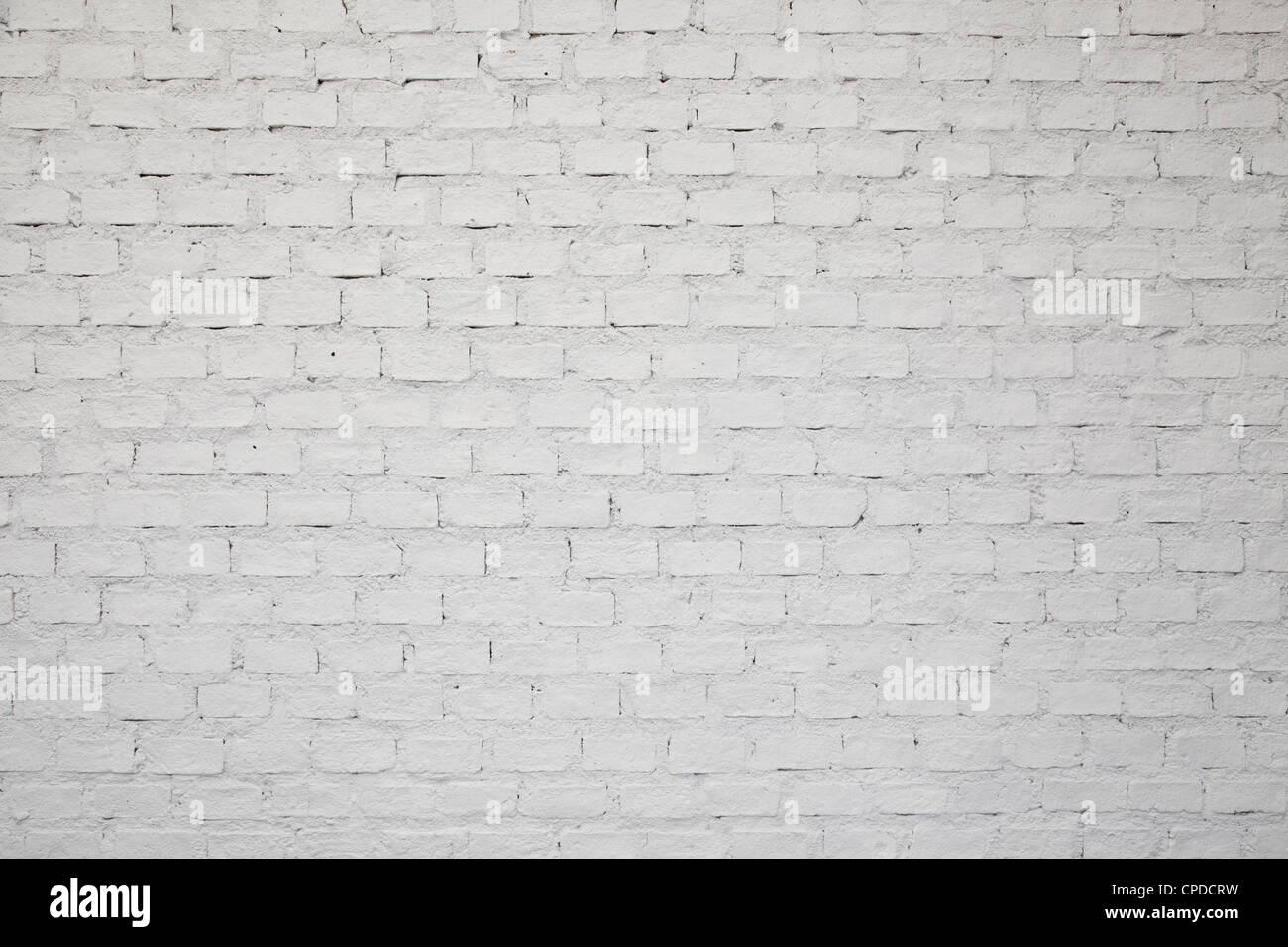 eine wei e ziegel wand hintergrund stockfoto bild 48238621 alamy. Black Bedroom Furniture Sets. Home Design Ideas