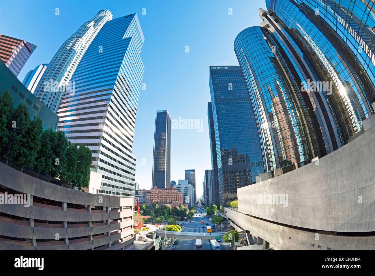 Innenstadt, Los Angeles, California, Vereinigte Staaten von Amerika, Nordamerika Stockbild
