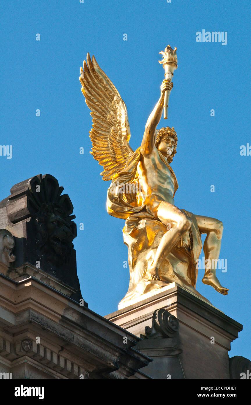 Königliche Kunstakademie, Dresden, Sachsen, Deutschland, Europa Stockbild