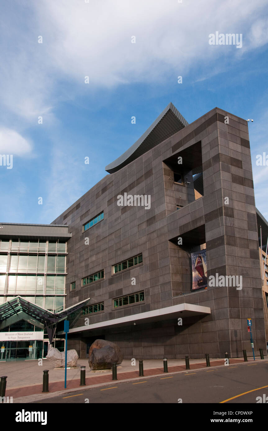 Neue Neuseeland Nordinsel Wellington Museum of New Zealand Te Papa Tongarewa Stockbild