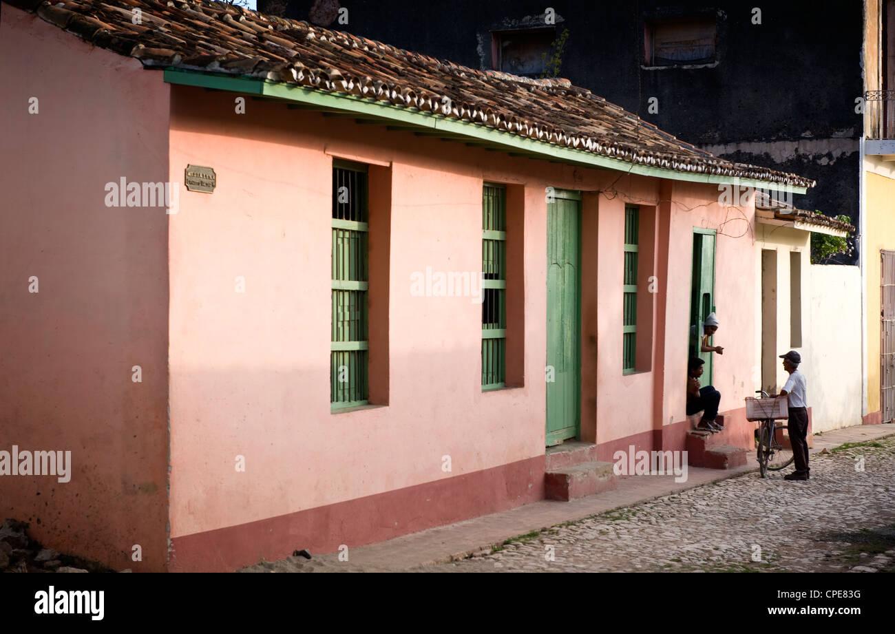 Trinidad, Kuba, Karibik, Mittelamerika Stockbild
