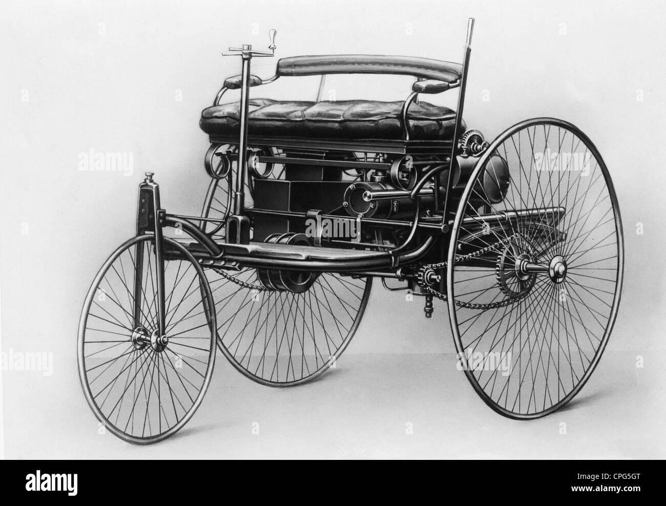 Verkehr / Transport, Auto, Fahrzeugvarianten, Benz, erste ...