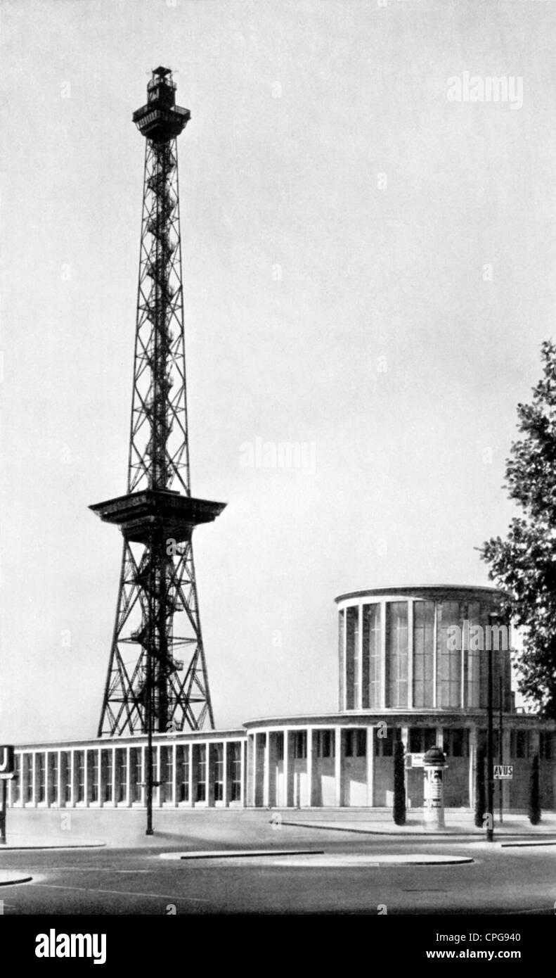 Geographie reisen deutschland berlin radio turm und for Architektur ns zeit