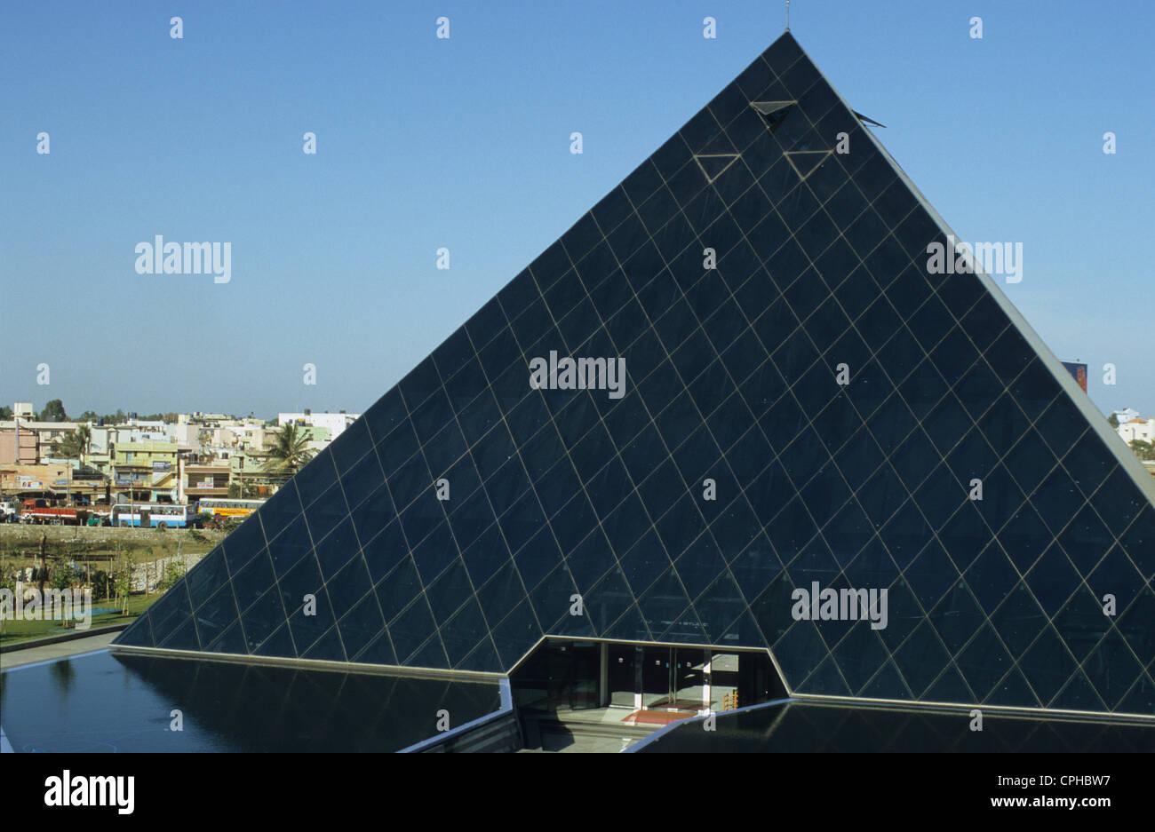 INDIA-Bangalore, Campus der Infosys in Electronics City, Infosys ist ein Haupt-Software-Entwickler und bietet e Stockbild