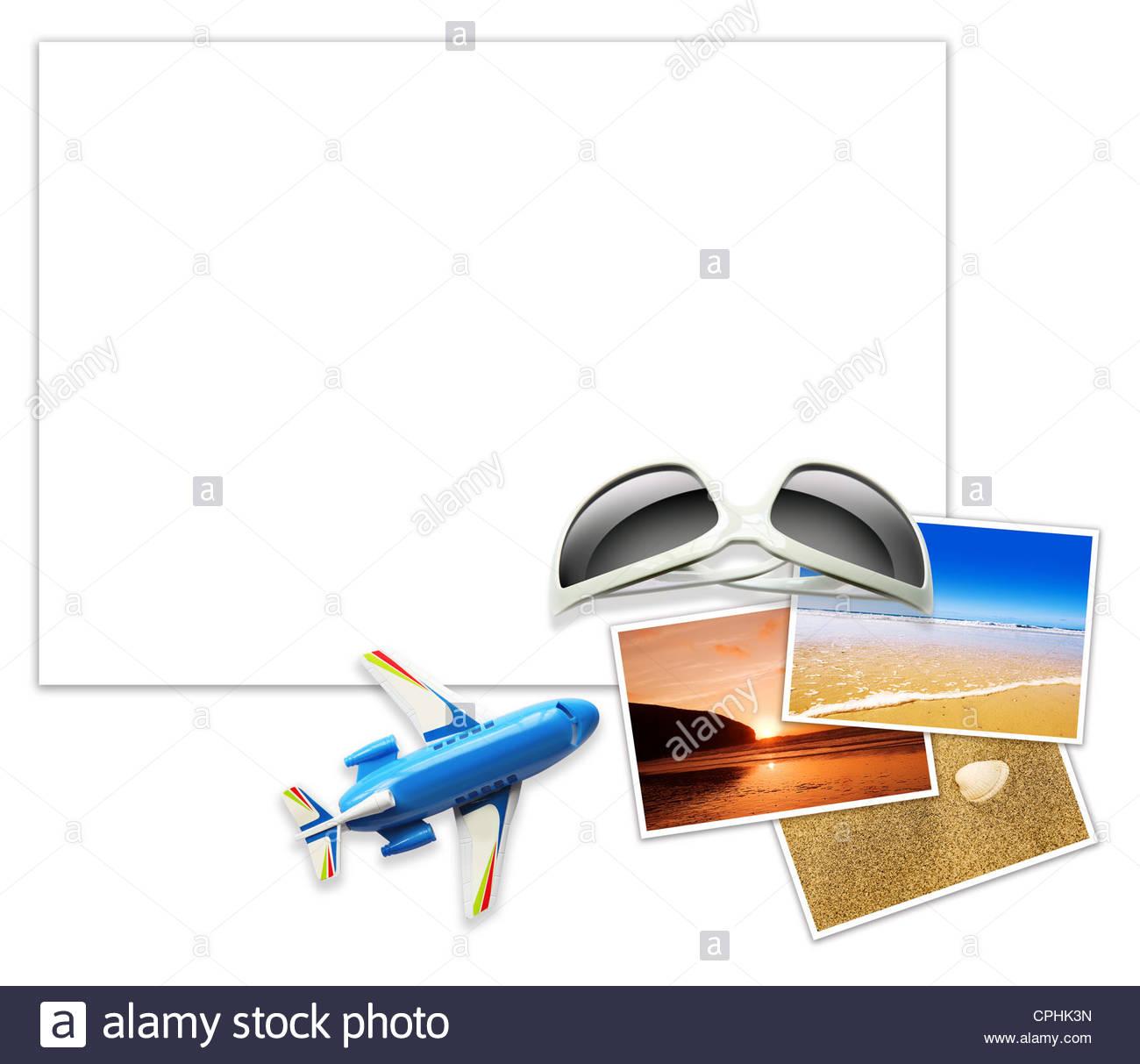 Urlaub Vorlage Stockfoto, Bild: 48331353 - Alamy