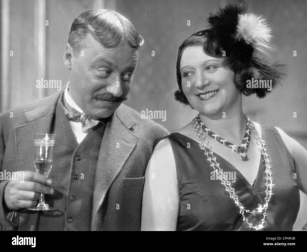 Paul Morgan Und Trude Hesterberg In Arm Wie Eine Kirchenmaus 1931