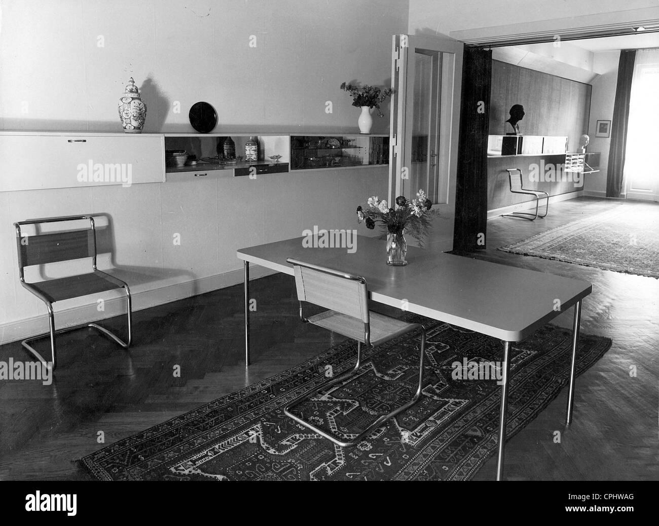 inneneinrichtung im bauhaus stil erstellt von marcel breuer stockfoto bild 48336248 alamy. Black Bedroom Furniture Sets. Home Design Ideas
