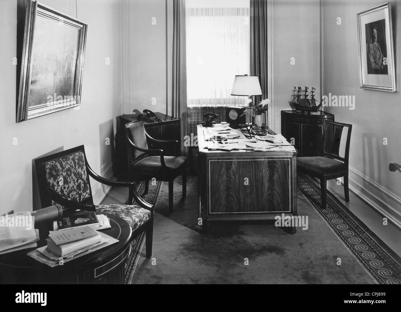 Innenraum der reichskanzlei 1939 stockfoto bild for Innenraum design berlin