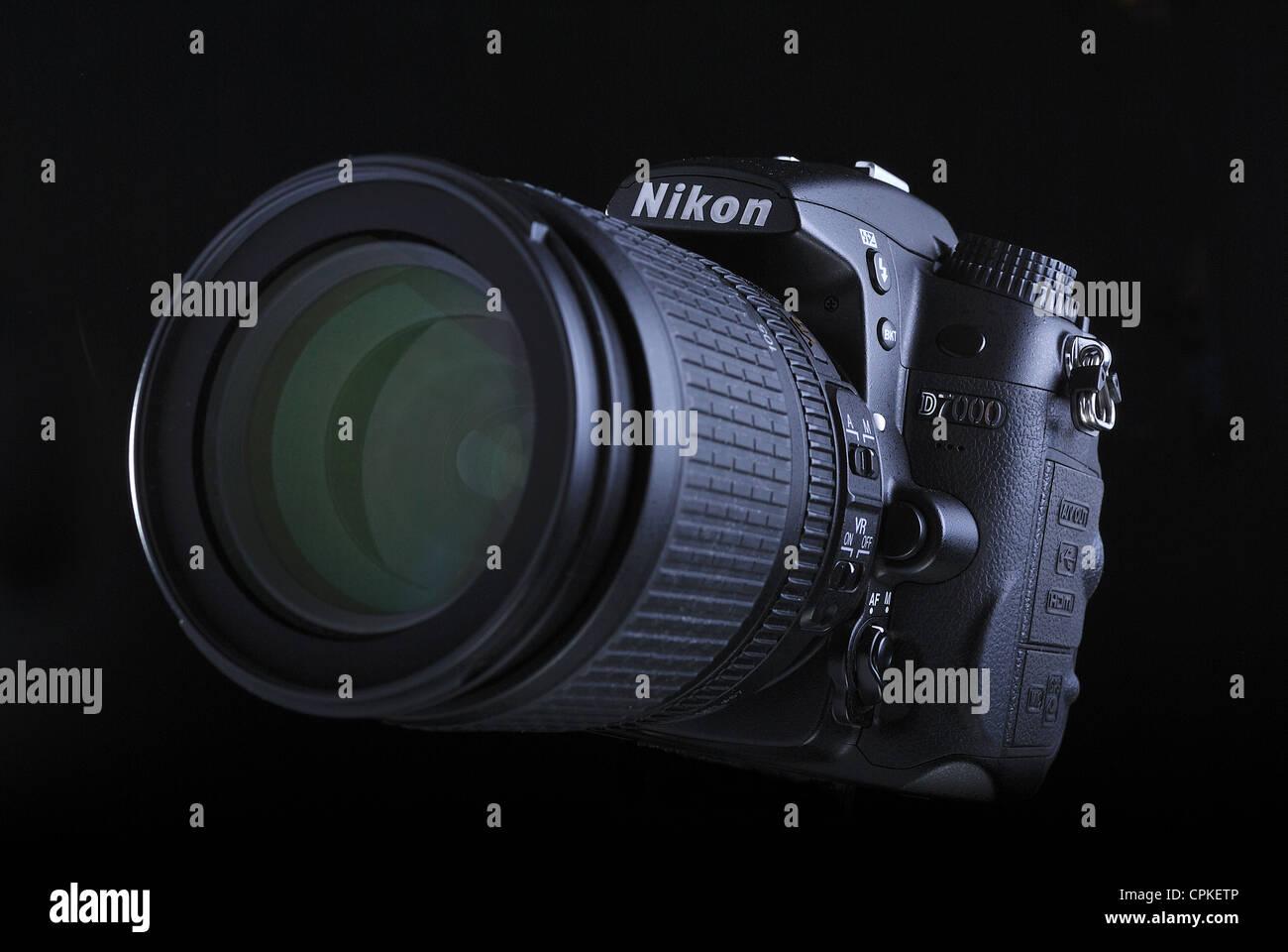 Digitale SLR-Kamera Nikon D7000 Stockbild
