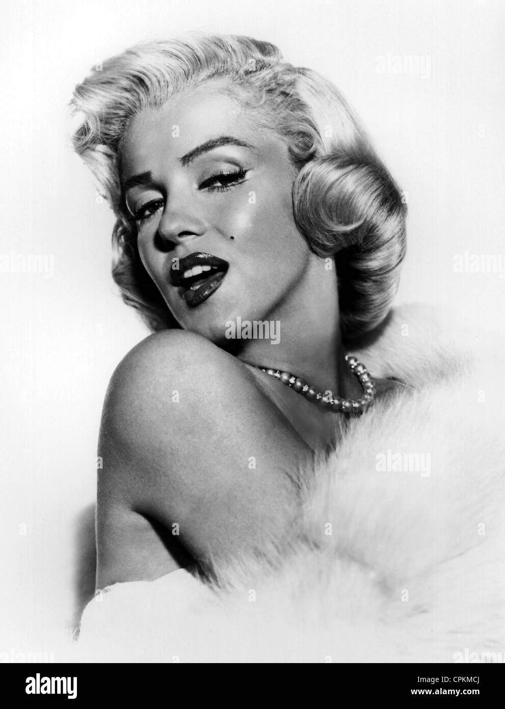 Farbe im Portrait der Filmstar Marilyn Monroe, abgebildet ...