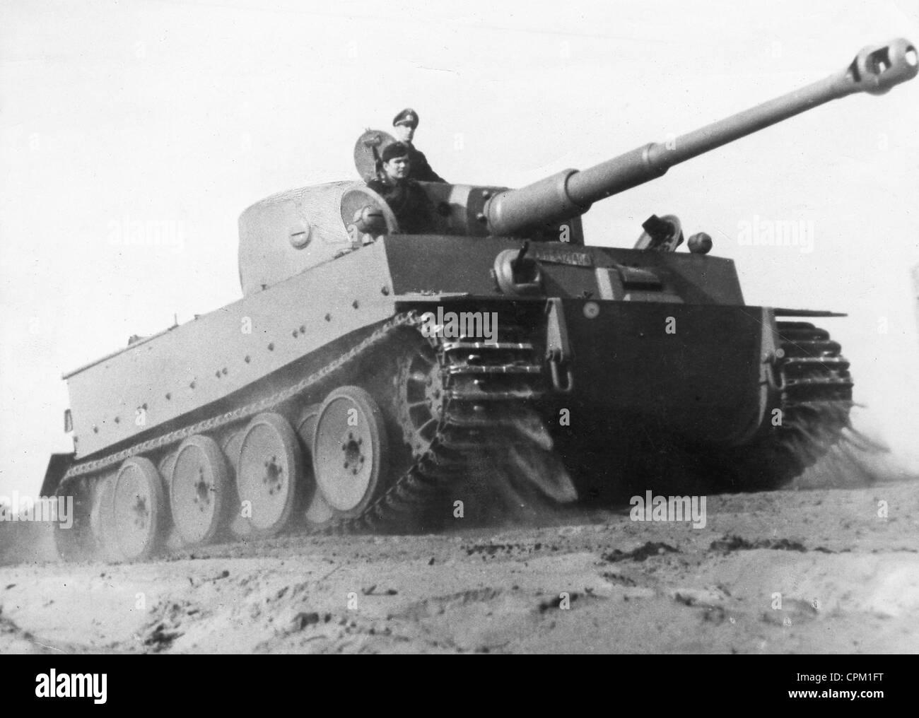 Deutsche Panzer Vi Tiger Panzer 1943 Stockfoto Bild 48383436 Alamy