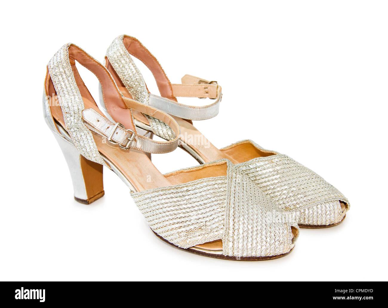 Silberne Schuhe Stockfotos Silberne Schuhe Bilder Alamy