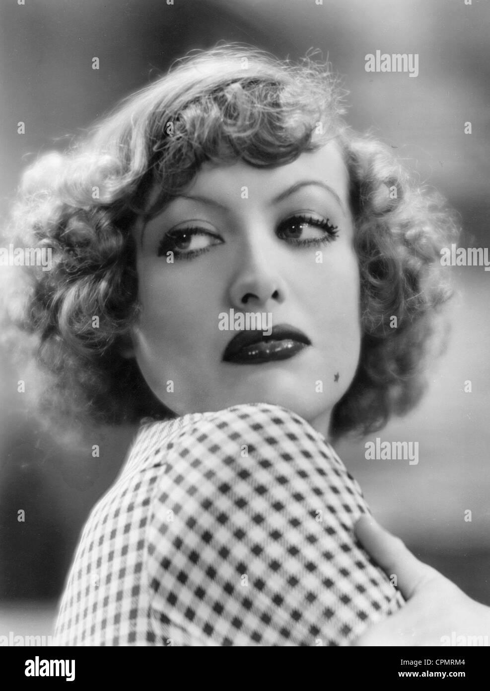 """Joan Crawford in """"Regen"""", 1932 Stockbild"""