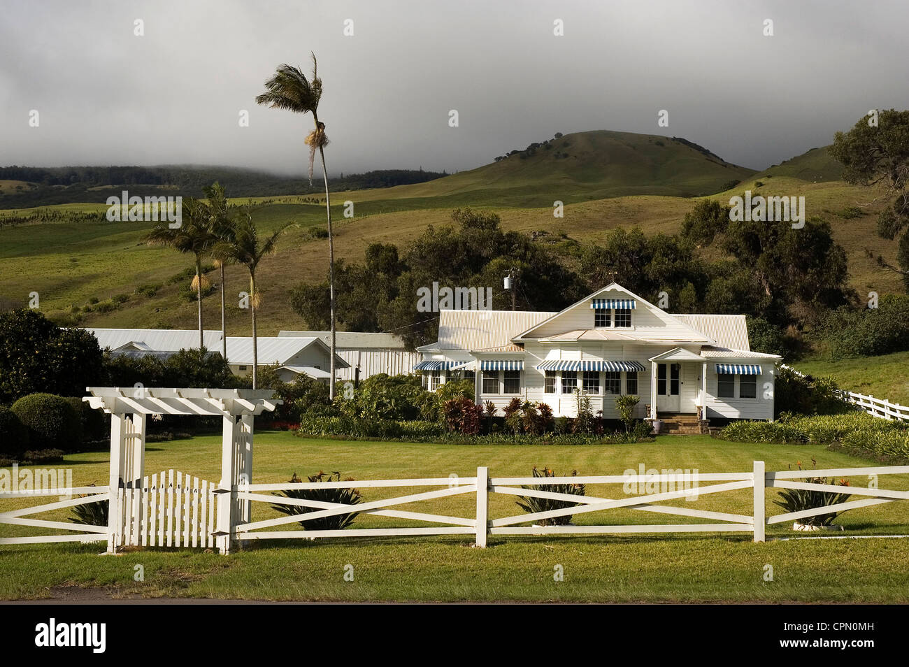 elk284 3125 hawaii hi waimea ranch haus stockfoto bild 48404737 alamy. Black Bedroom Furniture Sets. Home Design Ideas