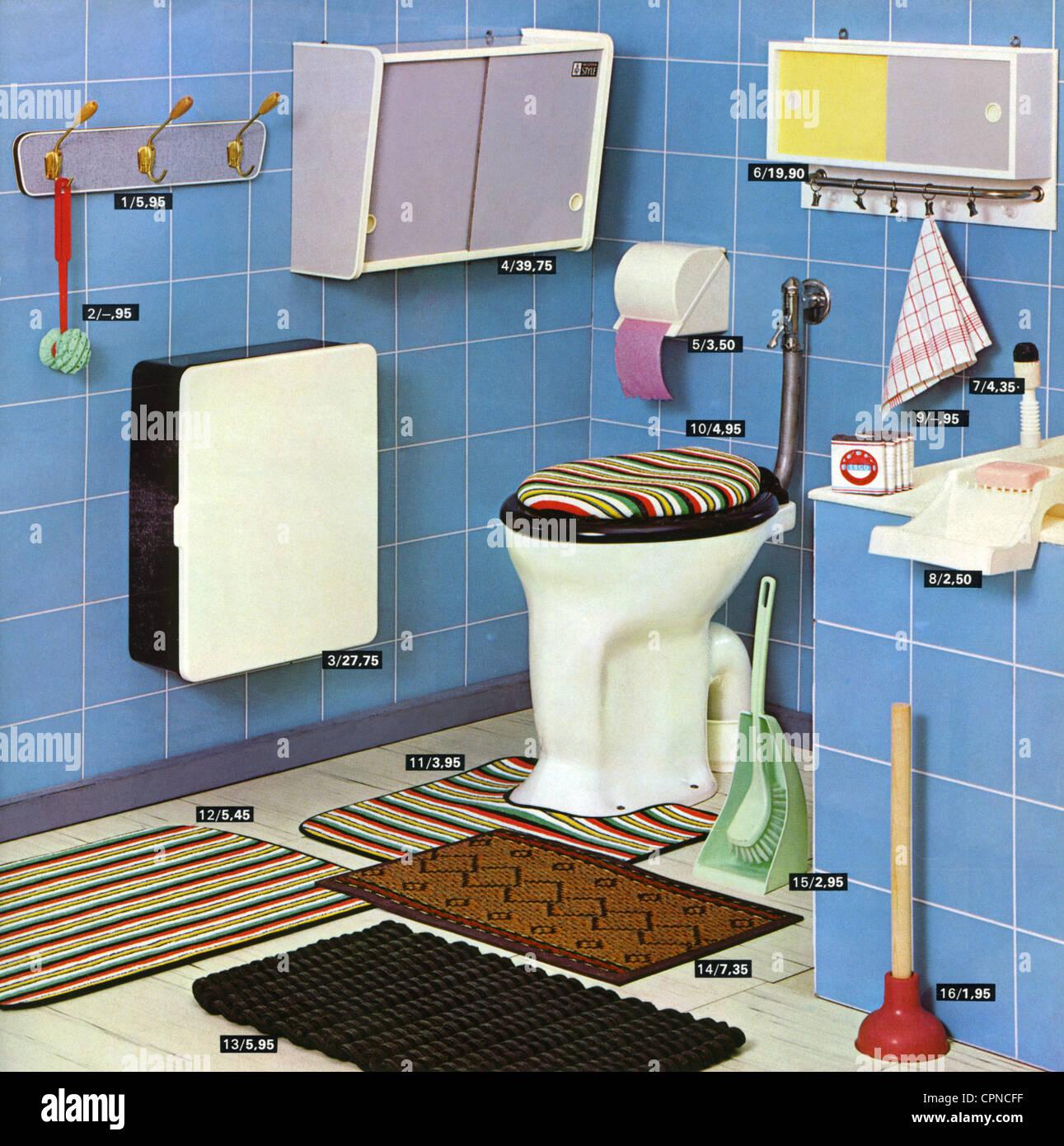 Möbel, Badezimmer, Katalog Bild mit Artikelnummern, unbekannte ...