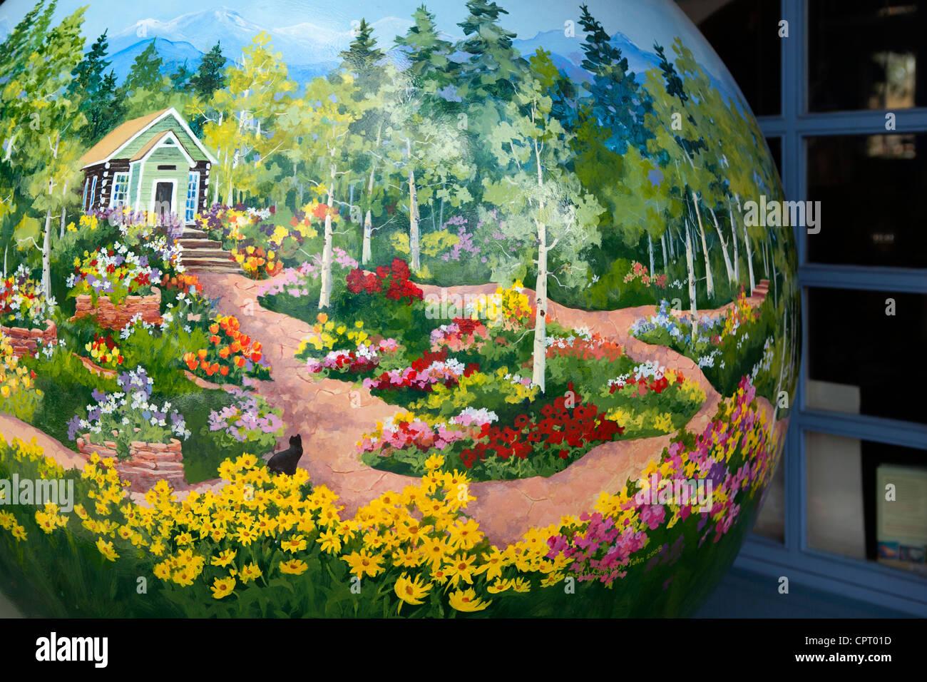 Kunst Stuck Betty Ford Alpine Gardens Vail Kunstlerin Cheryl