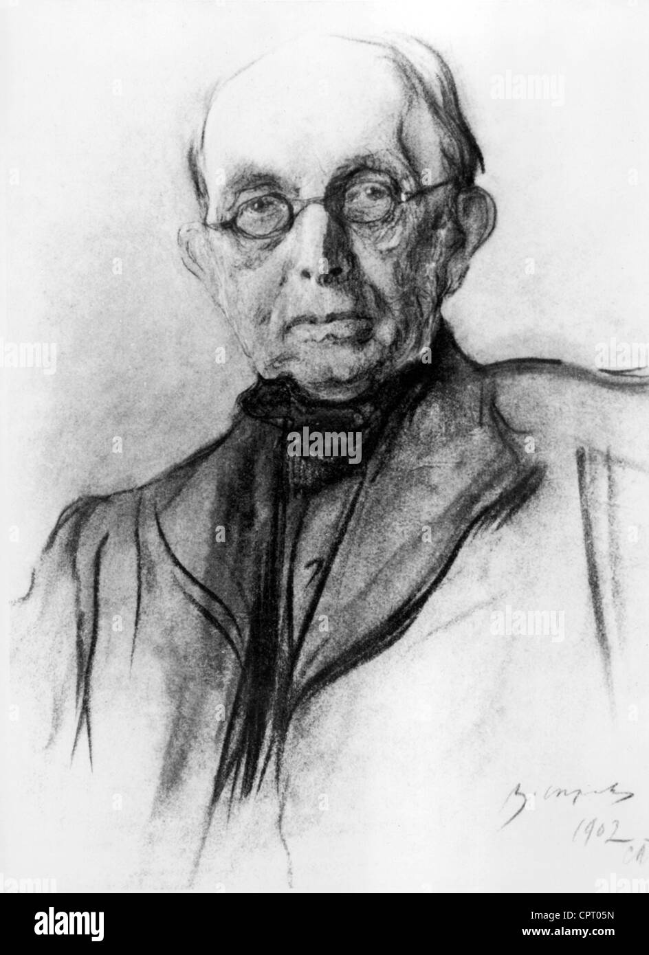 Pobedonostsev, Constantine, 21.5.1827 - 23.3.1907, Russisch Richter, Ober-Procurator der Heiligen Synode, Portrait, Stockbild
