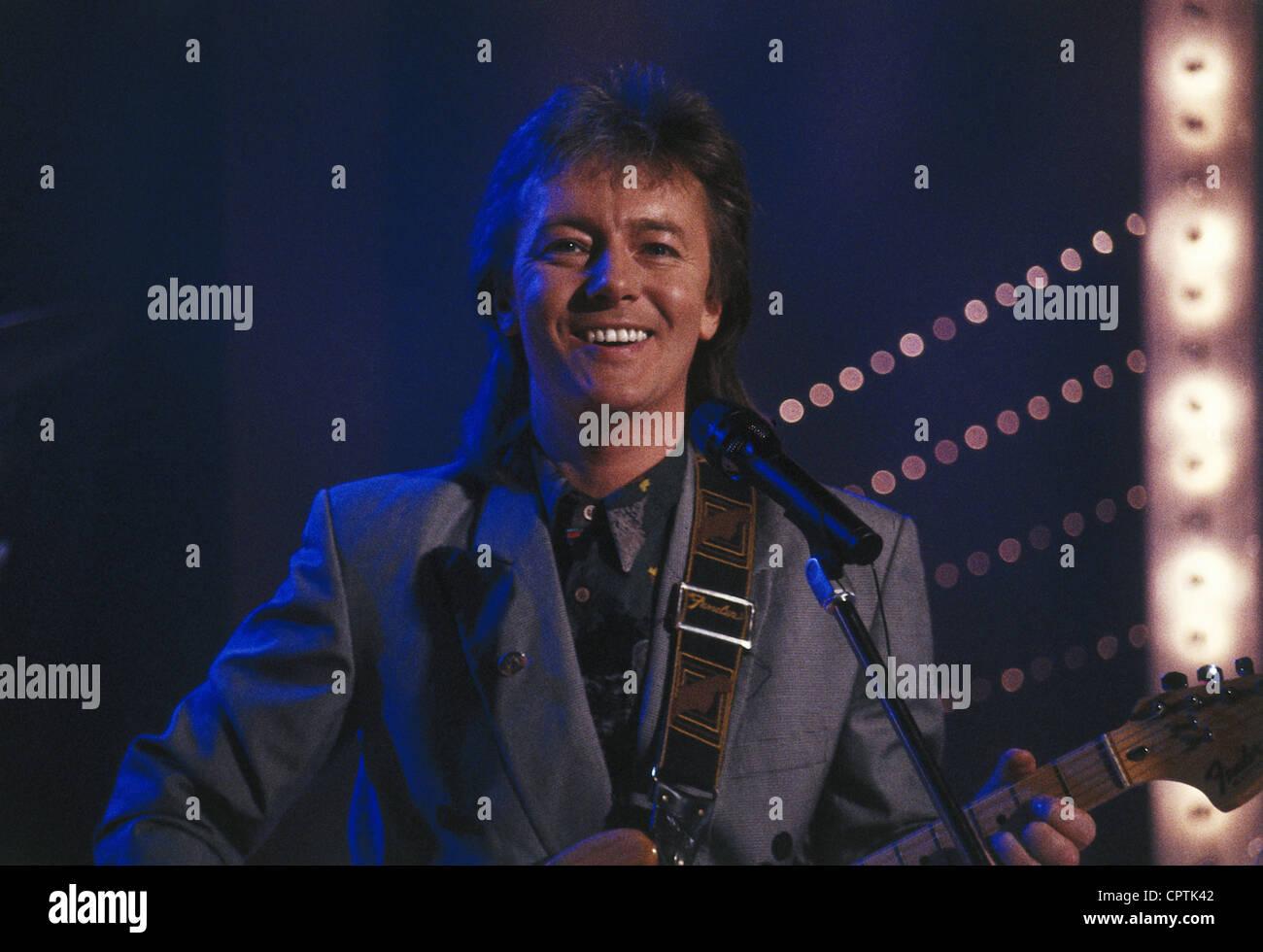 Norman, Chris, * 25.10.1950, Britische Sängerin, halbe Länge, auf der Bühne, 1990 s, Additional-Rights Stockbild