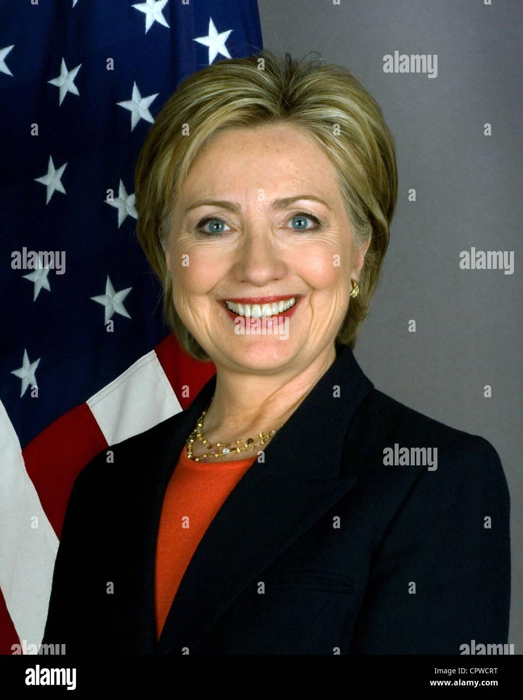 Hillary Clinton Stockbild