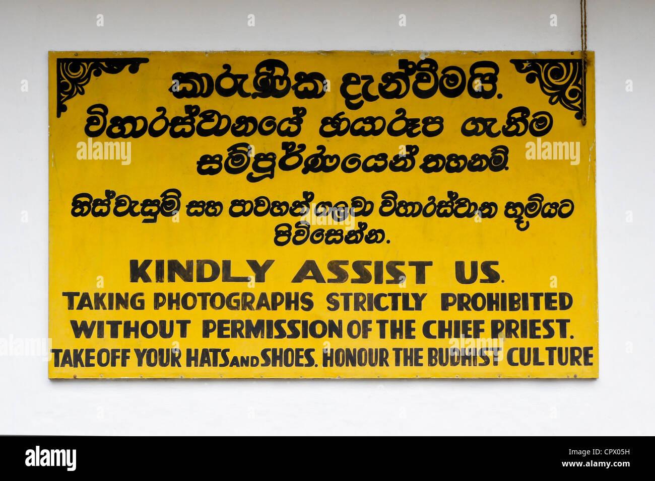 Sri Lanka Sinhalese Stockfotos & Sri Lanka Sinhalese Bilder - Alamy