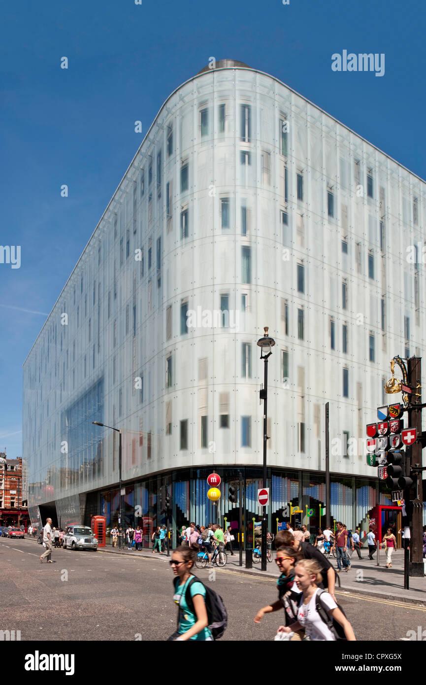 W Hotel Leicester Square London Vereinigtes Königreich Stockfoto