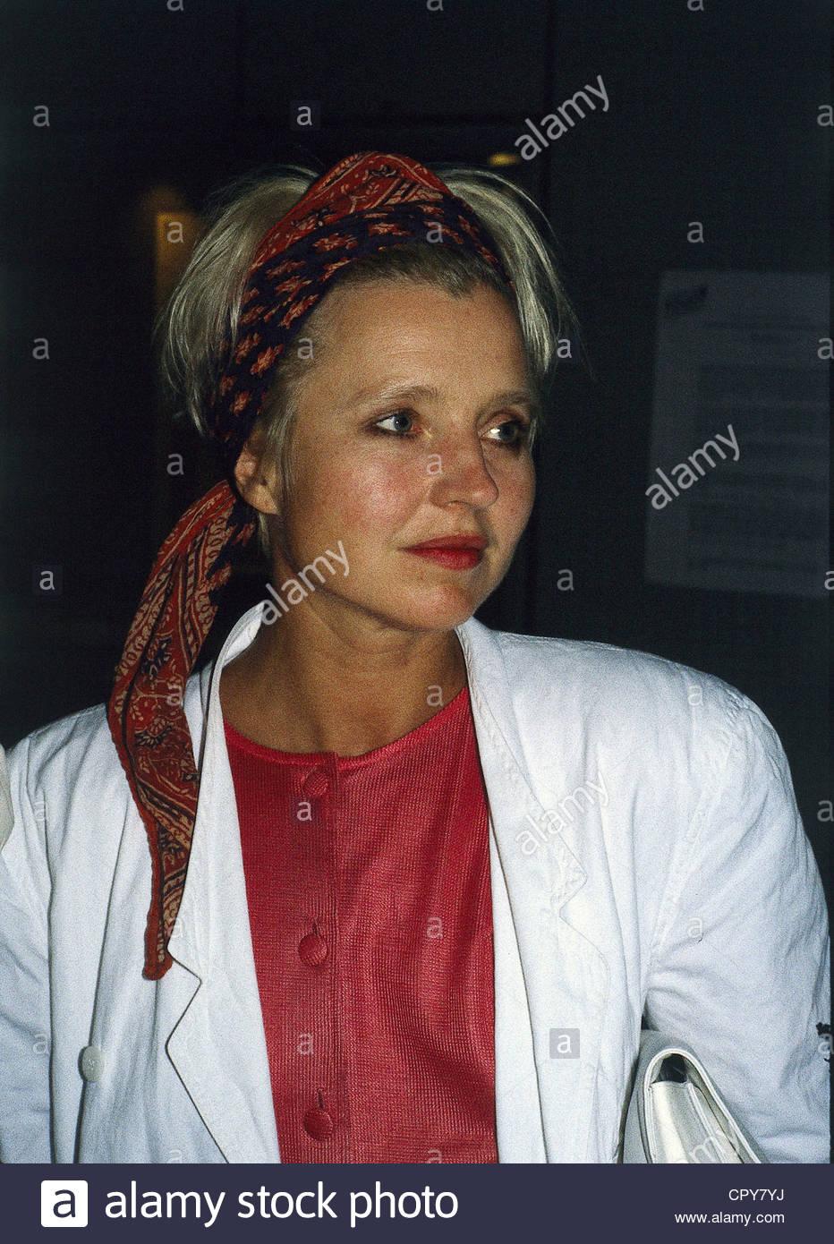 Schygulla Hanna 25121943 Deutsche Schauspielerin Porträt