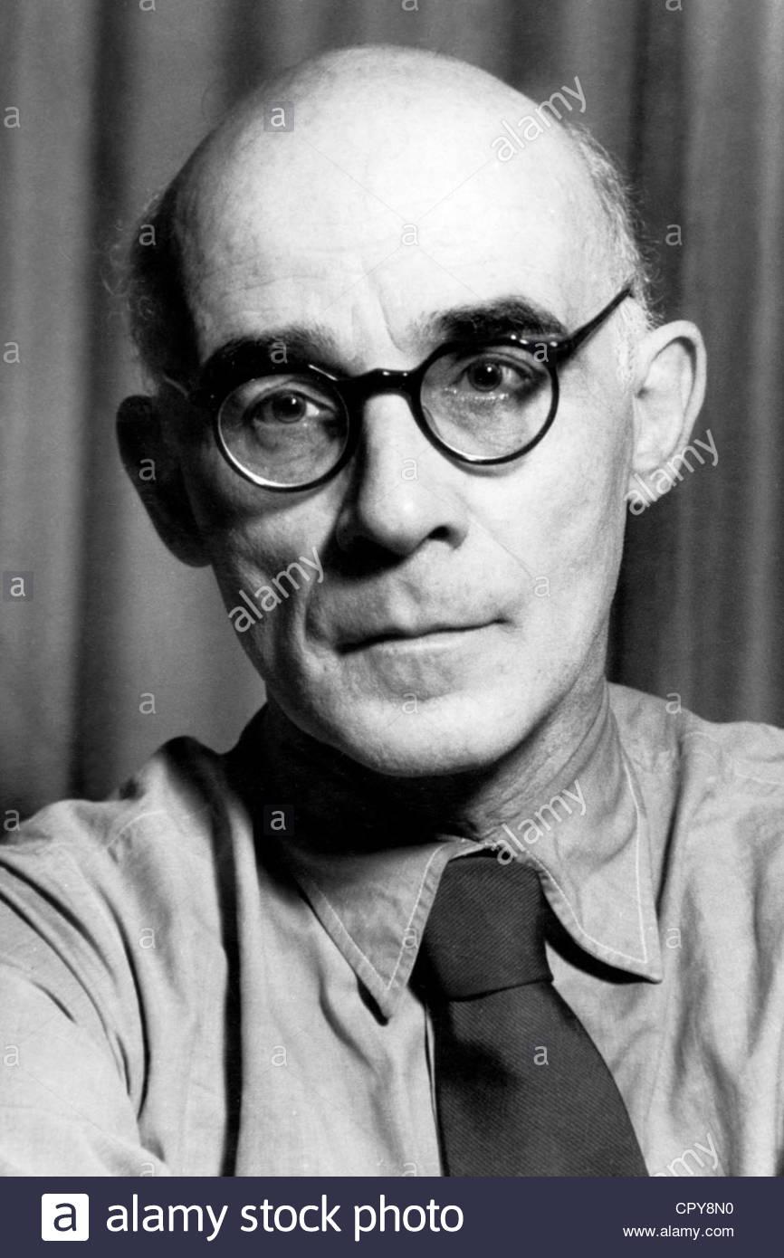 Engel, Erich, 14.2.1891 - 10.5.1966, deutscher Theater- und Filmregisseur, Porträt, 1940er Jahre, Additional Stockbild