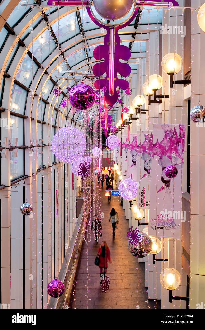 Weihnachtsbeleuchtung Forum.Forum Des Halles Stockfotos Forum Des Halles Bilder Alamy