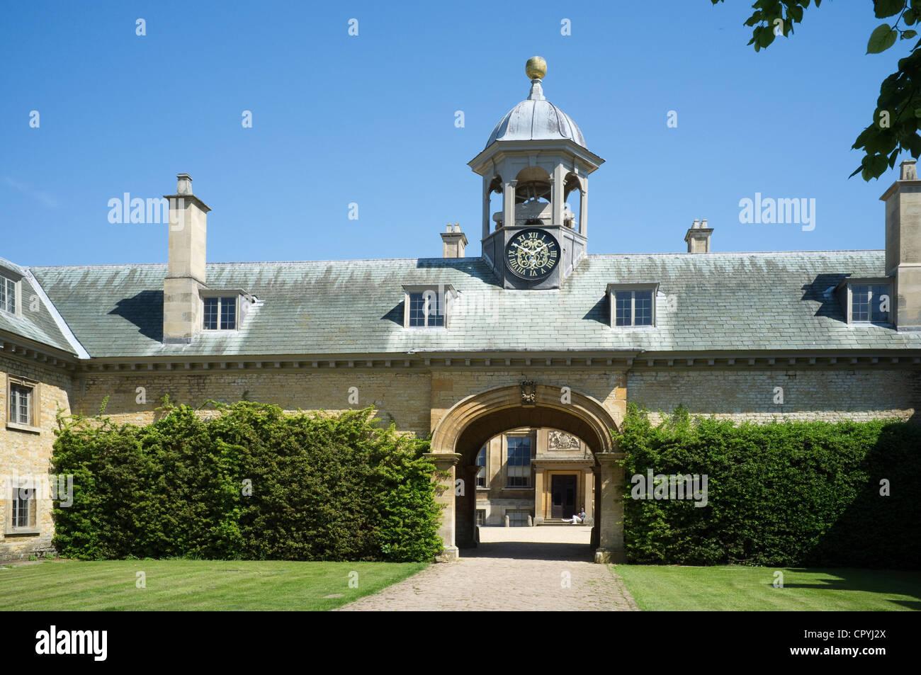 Belton Klasse 1 aufgeführten Land Haus Grantham Lincolnshire-2 Stockbild