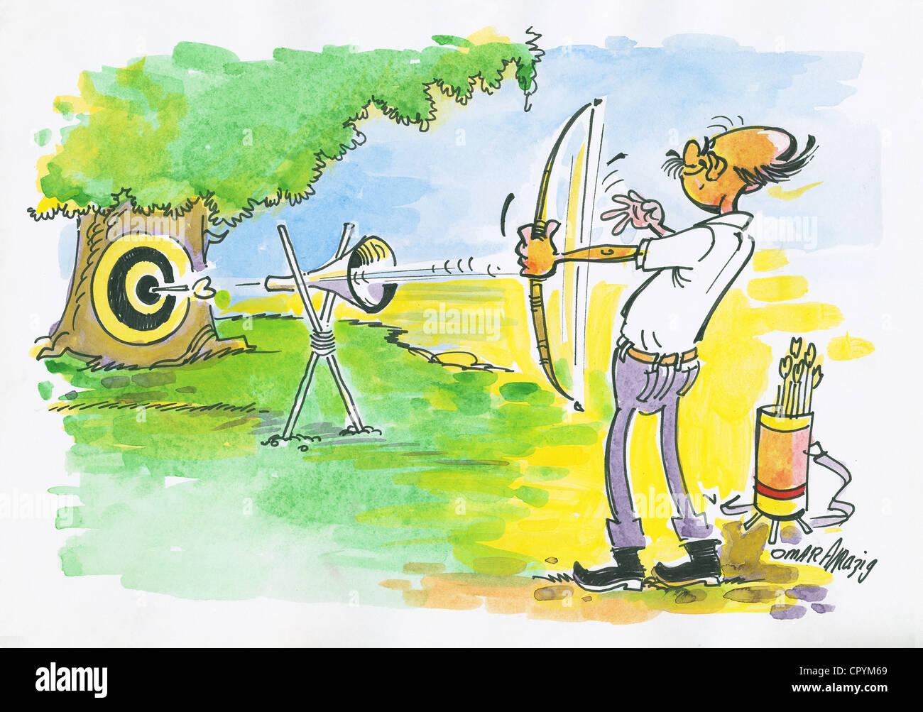 Karikaturen Stockfotos & Karikaturen Bilder