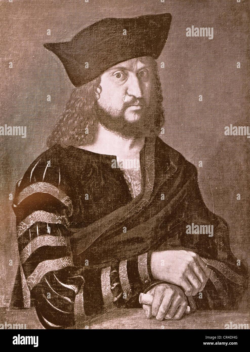 Friedrich III., Kurfürst von Sachsen (1463-1525) Stockbild
