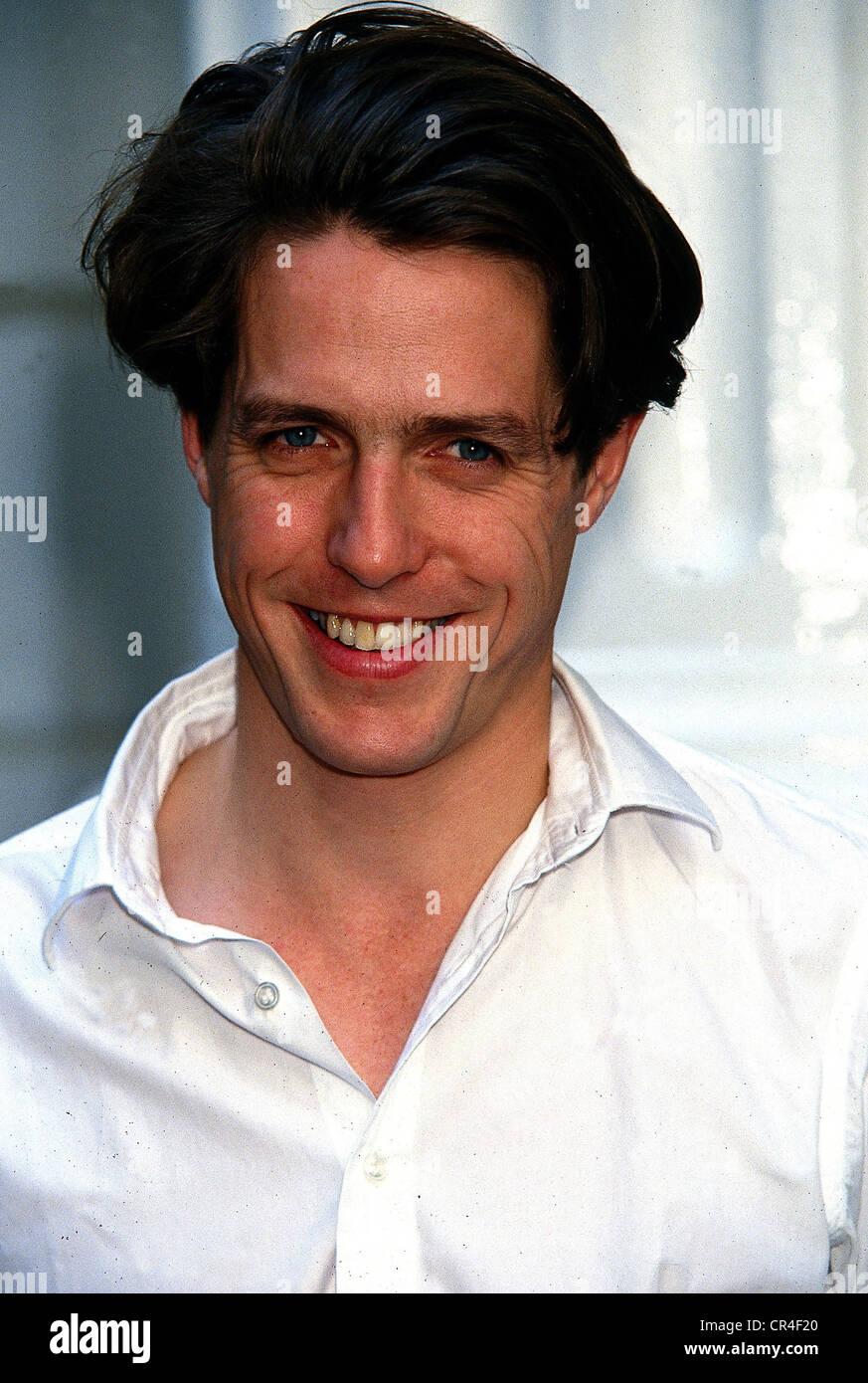 Grant, Hugh, * 9.9.1960, britischer Schauspieler, Porträt, ca. 1992, Stockfoto
