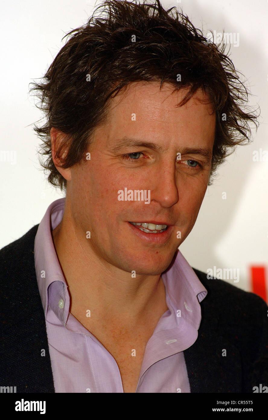 """Grant, Hugh, * 9.9.1960, britischer Schauspieler, Portrait, Deutschland-Premiere des Films """"Love Actually"""", München, Stockfoto"""