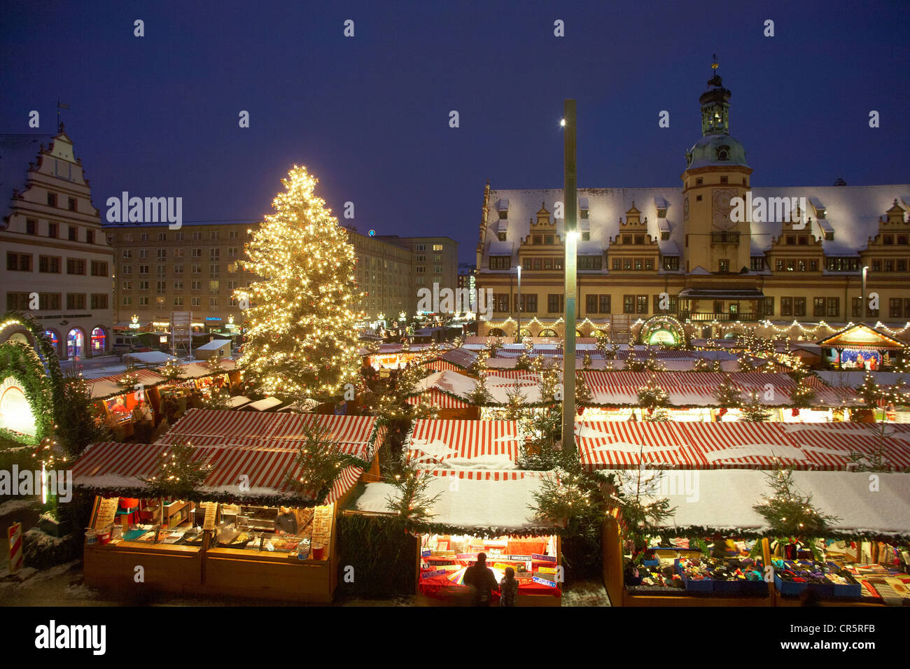 leipzig germany christmas market stockfotos leipzig germany christmas market bilder alamy. Black Bedroom Furniture Sets. Home Design Ideas