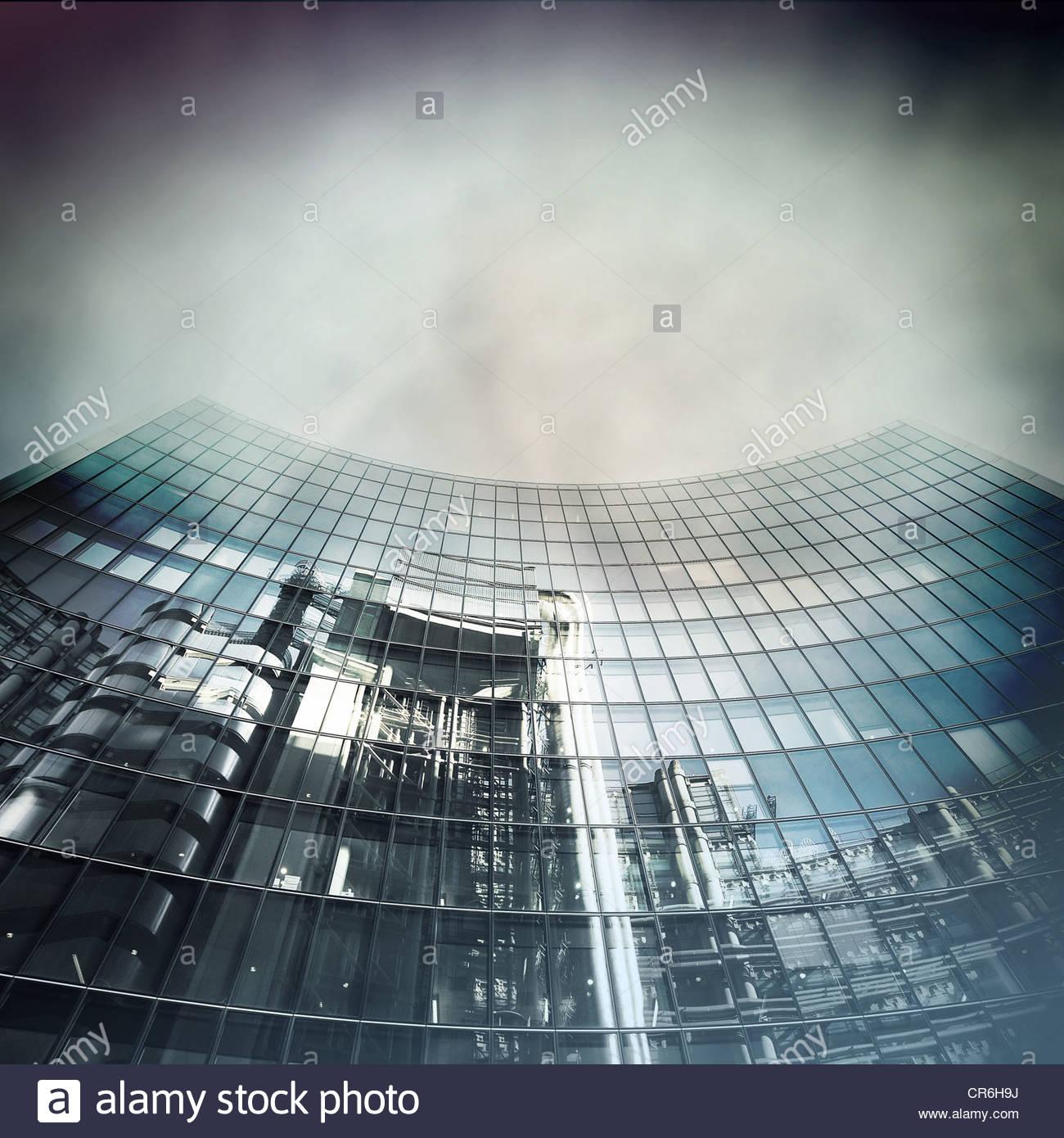 Trade-Gebäude Stockbild