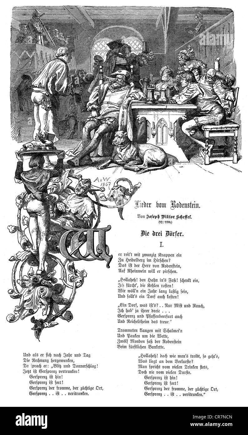 Scheffel Joseph Viktor Von 1621826 941886 Deutscher